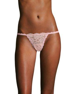 Hanky Panky Sophia Stretch-Corded Lace Briefs In Black
