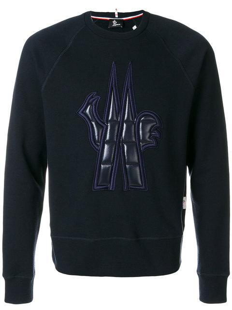 Moncler Grenoble Quilted Patch Sweatshirt