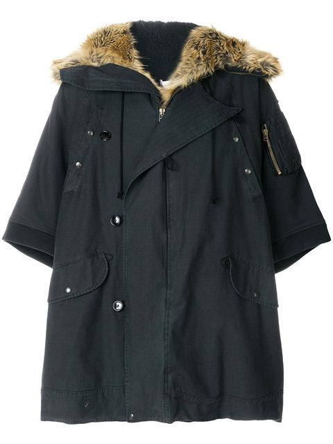 Faith Connexion Oversized Fur Hooded Parka