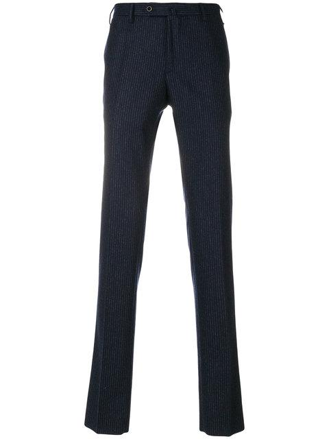 Incotex Stripe Detailed Tailored Trousers