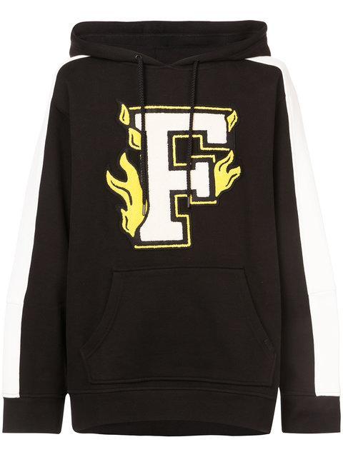 Fenty X Puma Panelled Sleeve Hoodie