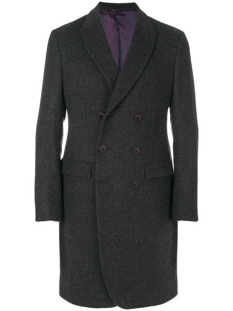 Giorgio Armani Double Breasted Fitted Coat