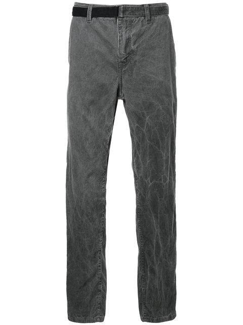 Sacai Corduroy Belted Trousers - Grey
