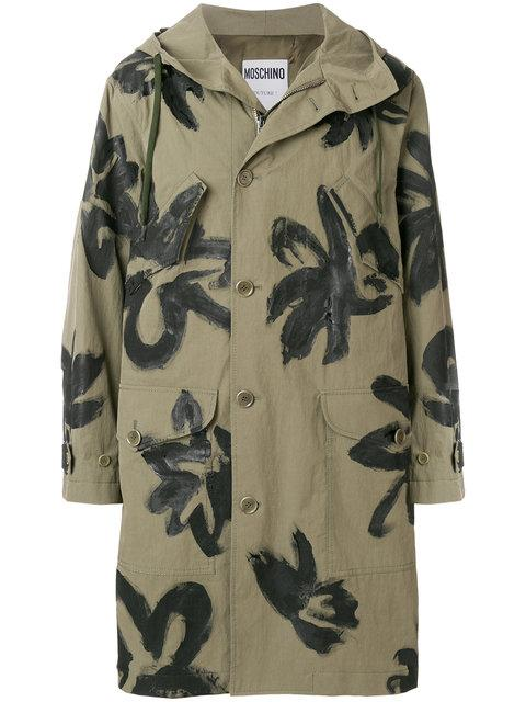 Moschino Mid-Length Jackets In Green