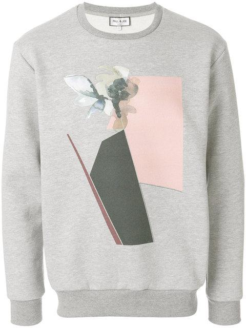 Paul & Joe Geometric Print Sweatshirt