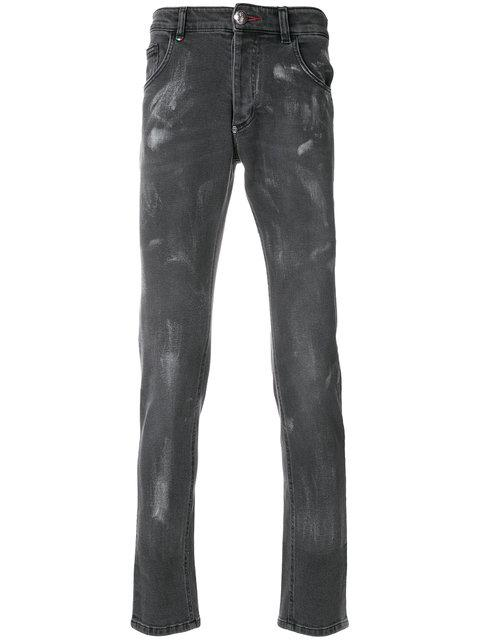 Philipp Plein Coney Island Jeans - Black