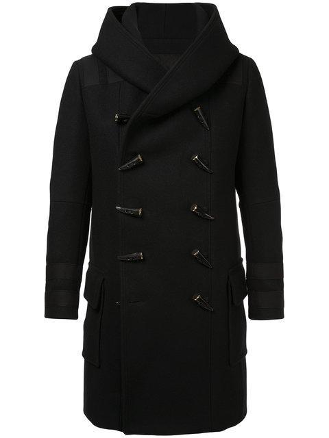 Balmain Double-Breasted Duffle Coat