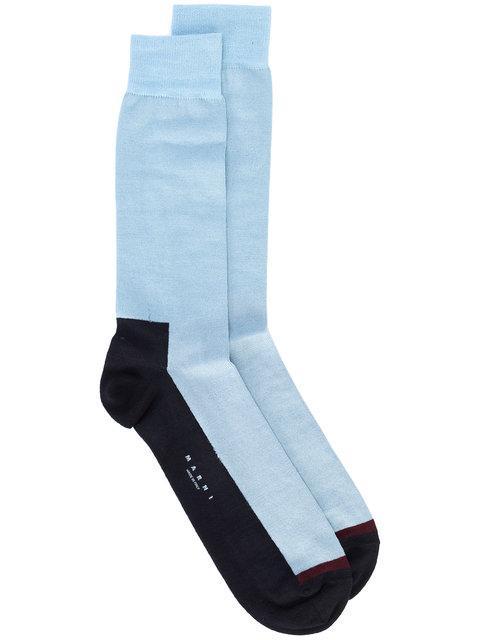 Marni Colour Blocked Socks