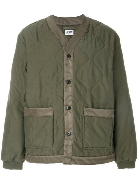 Edwin Quilted Patch Pocket Jacket