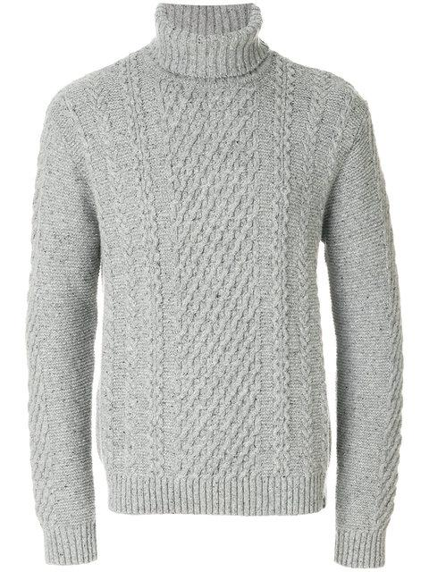 Edwin Long Sleeved Roll Neck Sweater