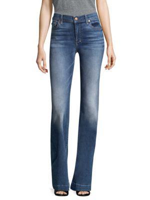 7 For All Mankind Dojo Original Trouser Jeans In Blue