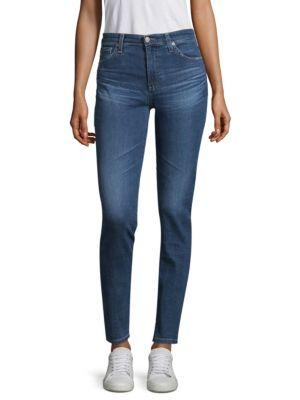 Ag The Mila High Rise Skinny Jeans In 14 Years Blue Nile