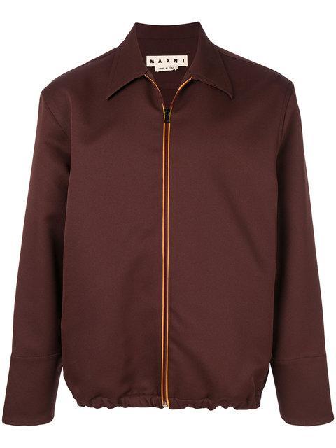 Marni Zipped Shirt Jacket