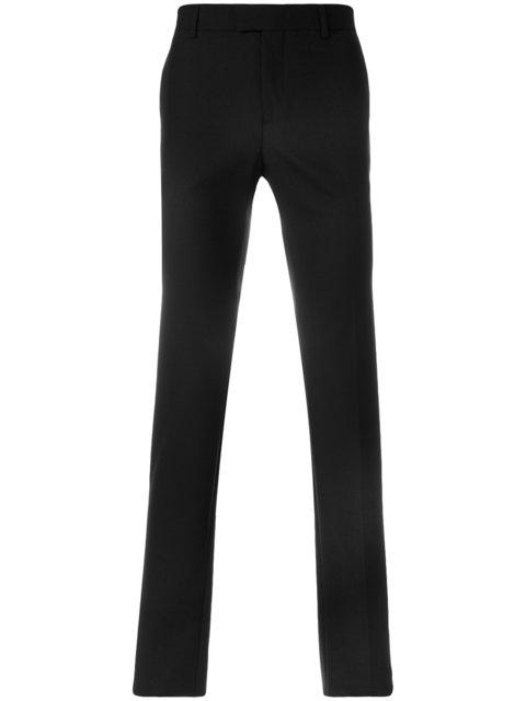 Les Hommes Tailored Trousers - Black