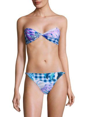 6 Shore Road Blanca Bikini Top In Multi
