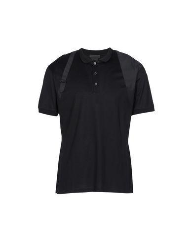 Alexander Mcqueen Polo Shirts In Black