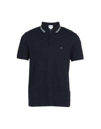 Armani Collezioni Polo Shirts In Dark Blue