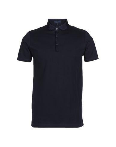 Lanvin Polo Shirts In Dark Blue