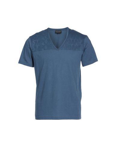 Emporio Armani T-Shirt In Slate Blue