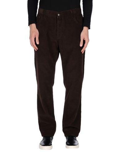 Barbour Casual Pants In Dark Brown