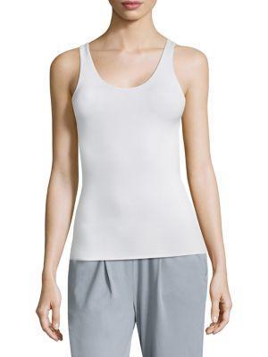 Skin Gaia Slimming Tank Top In White