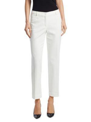 Akris Meg Cotton Jeans In Paper