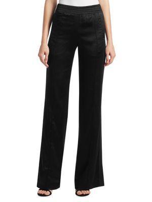 Jonathan Simkhai Combo Stitch Pants In Black