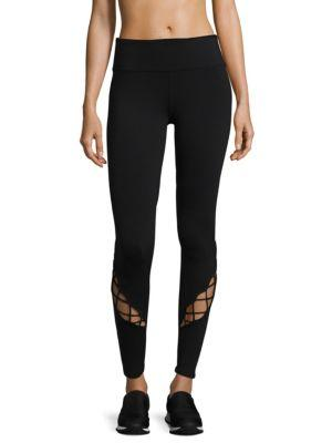 Alo Yoga Entwine Cutout Leggings In Anthracite