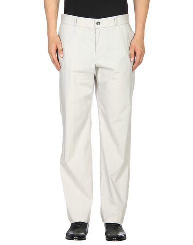 Jil Sander Beige Cotton Pants In Light Grey