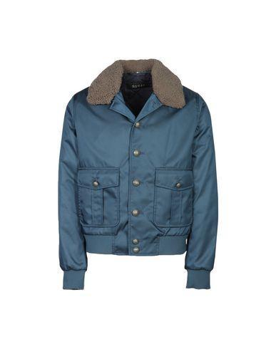 Gucci Jackets In Slate Blue