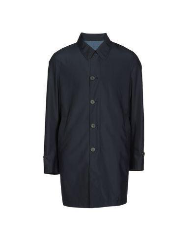Canali Coat In Pastel Blue