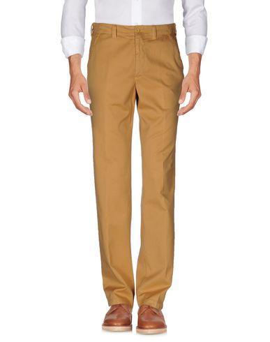 Canali Casual Pants In Ocher