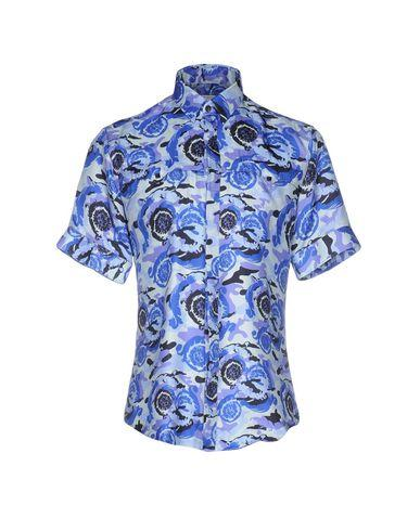 Versace Shirts In Blue