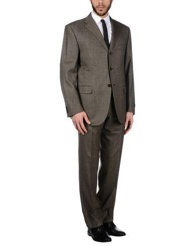Corneliani Suits In Dark Brown