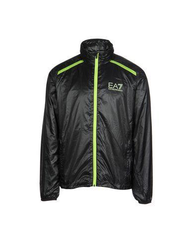 Ea7 Jackets In Black