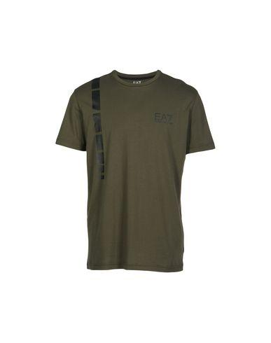 Ea7 T-Shirts In Military Green