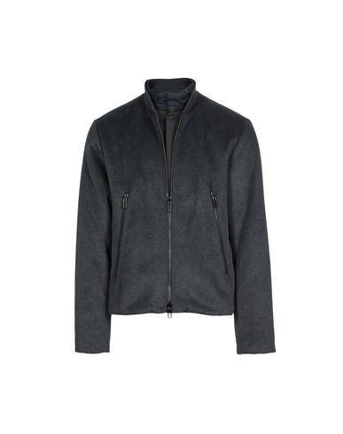 Emporio Armani Jackets In Dark Blue