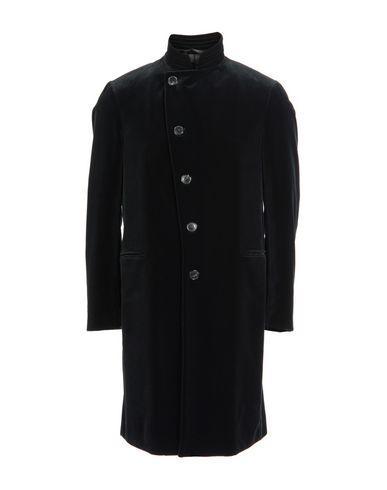 Armani Collezioni Full-Length Jacket In Black
