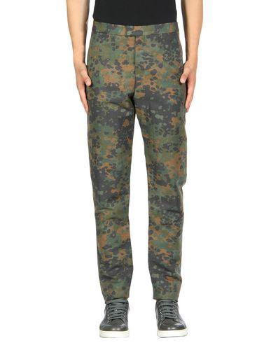 Burberry Casual Pants In Military Green