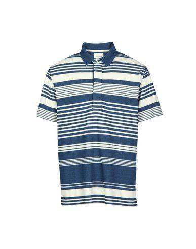 Billy Reid Polo Shirts In Blue