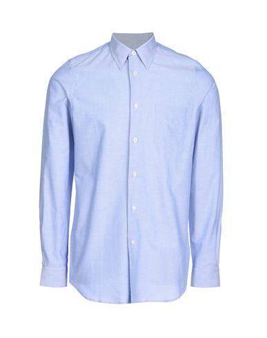 Paul Smith Solid Color Shirt In Blue