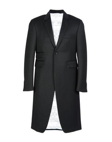 Thom Browne Overcoats In Black