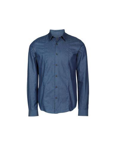 Theory Solid Color Shirt In Blue