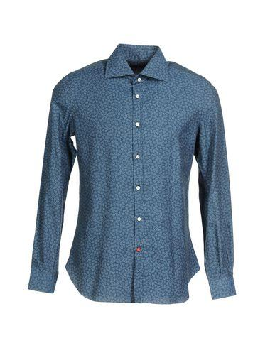 Isaia Patterned Shirt In Blue