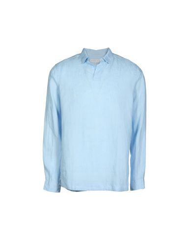 Orlebar Brown Shirts In Sky Blue