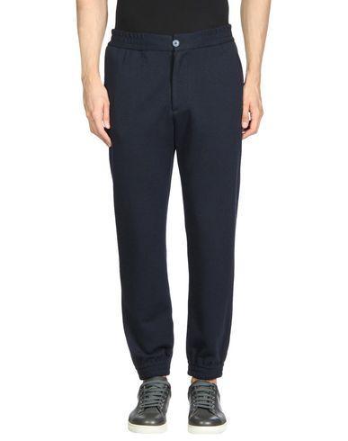 Emporio Armani Casual Pants In Dark Blue