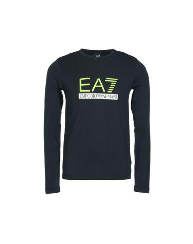 Ea7 T-Shirt In Dark Blue