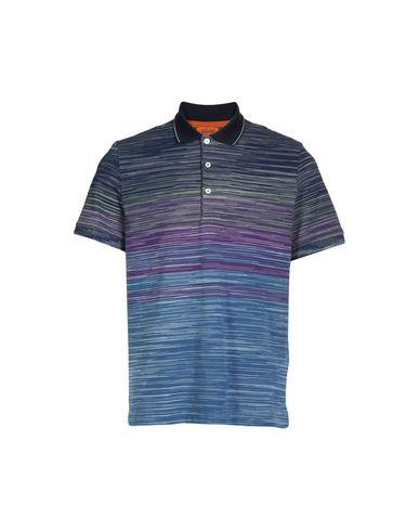 Missoni Polo Shirts In Blue