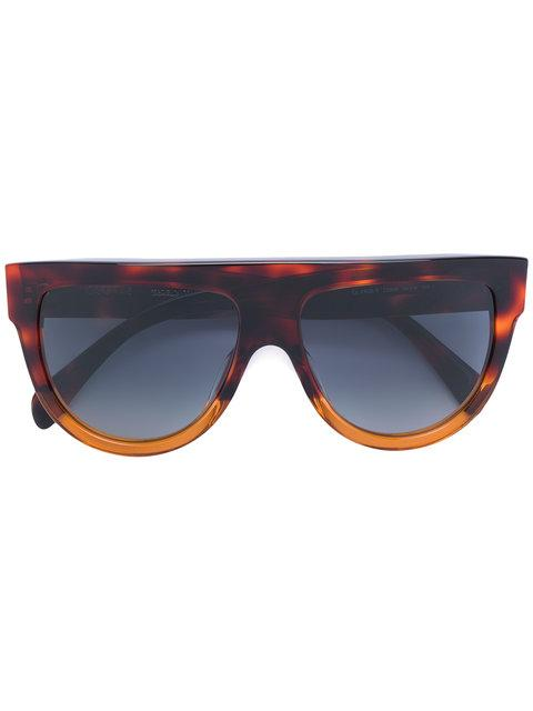 Celine D-frame Sunglasses In Brown