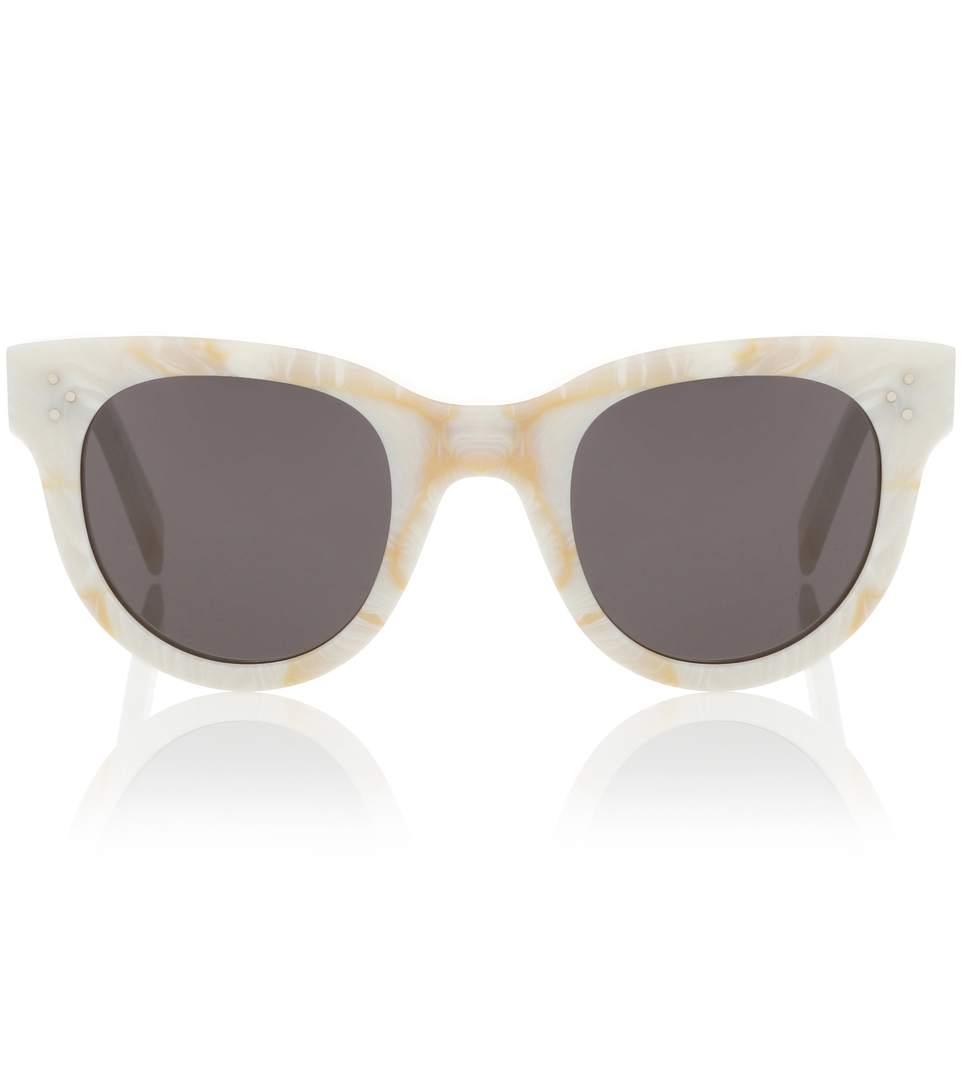 ab953582ae533 Celine Baby Audrey Cat-Eye Sunglasses
